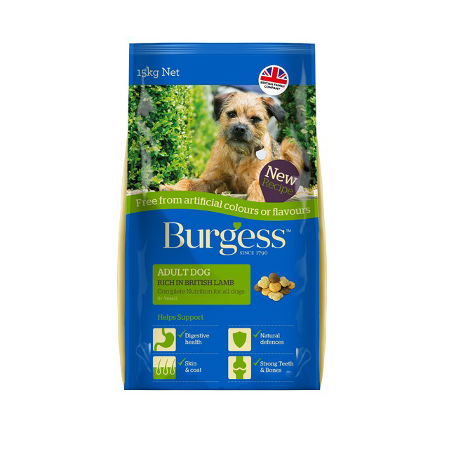 Burgess F.F.A.C. Adult Dog Lamb  15kg