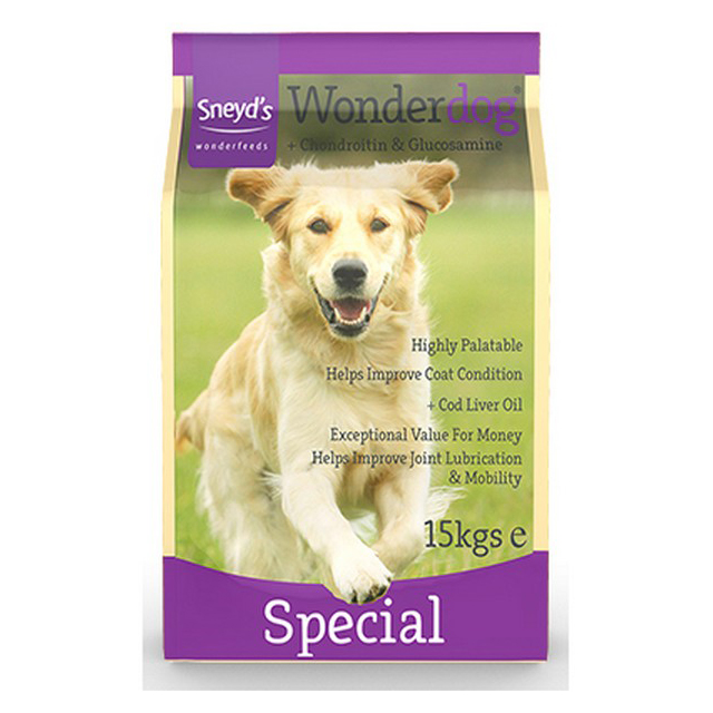 Sneyds Wonderdog Spec Chondroitin and Glucosam 15kg
