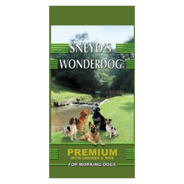 Sneyds Wonderdog Premium Chicken & Rice 15kg