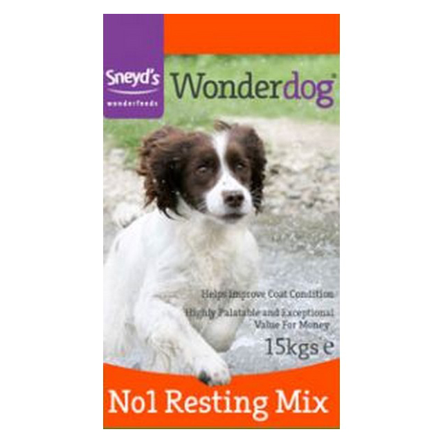 Sneyds Wonderdog No1 Resting Mix 15kg
