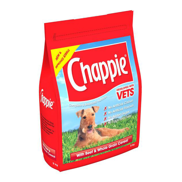 Chappie Comp - Orig. Beef and W/grain Cereal 3kg