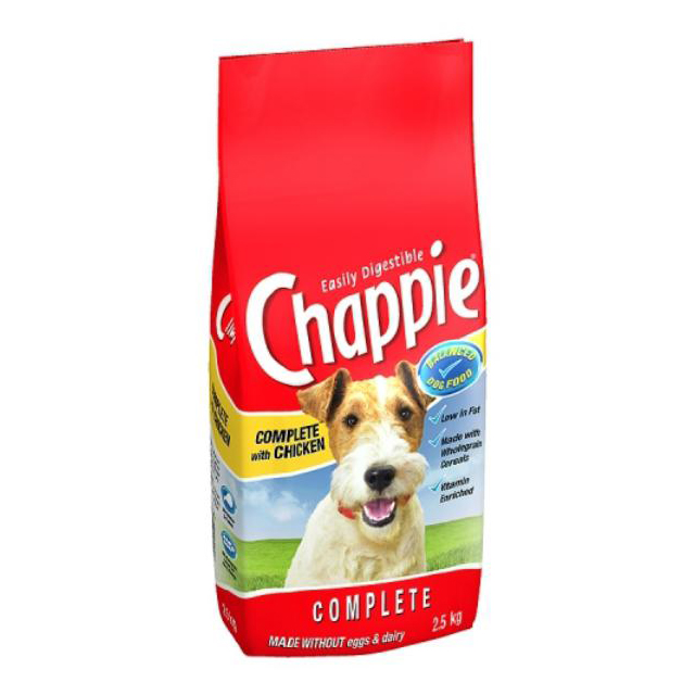 Chappie Complete Chicken & Wholegrain Cereal 3kg