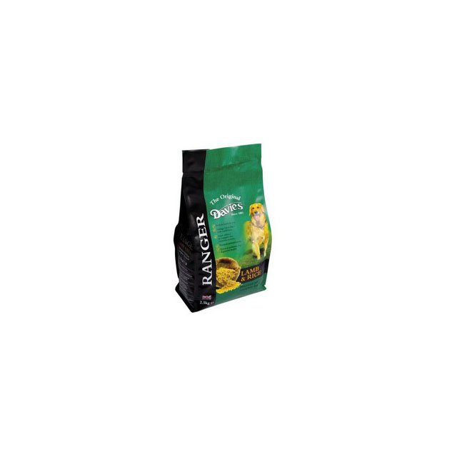 Davies Ranger Lamb and Rice 2.5kg