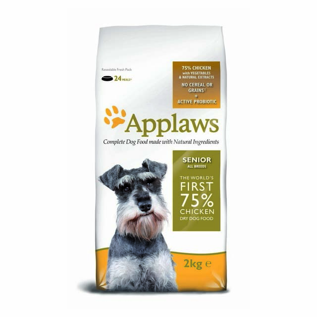 Applaws Natural Complete All Breed Senior Chicken 2kg