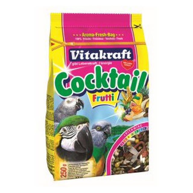 Vitakraft Parrot Cocktail Frutti 250g [DCse 6]