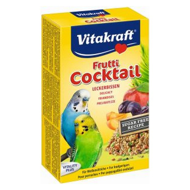 Vitakraft Fruit Cocktail Budgie 200g [DCse 12]
