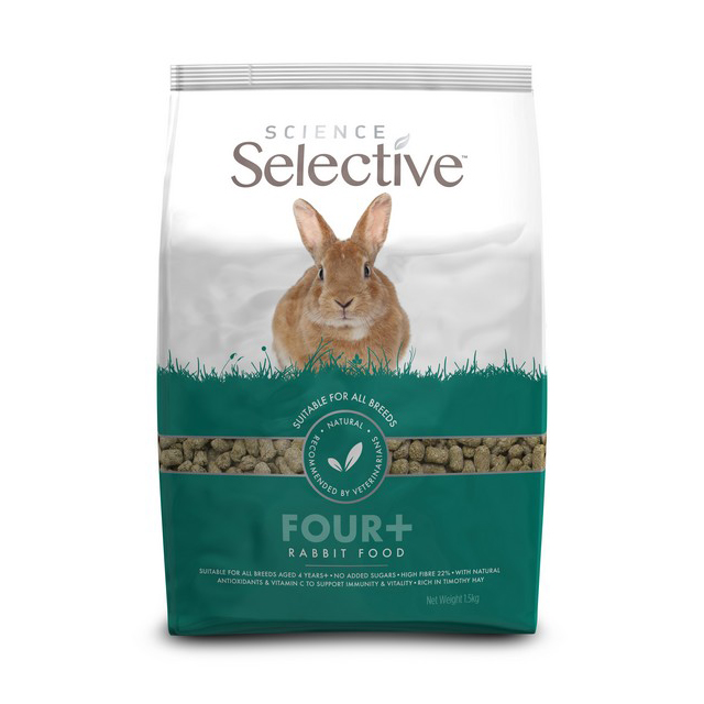 Supreme Science Selective Rabbit 4 + Years 1.5kg