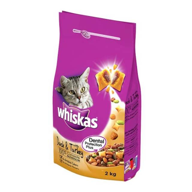 Whiskas 1+ Complete Adult Duck and Turkey 2kg