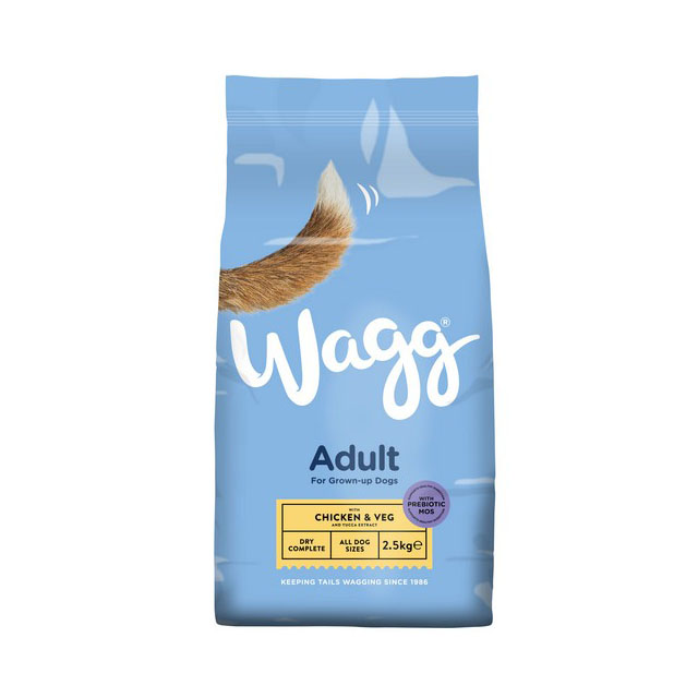 Wagg Complete Original Chicken and Veg 2.5kg