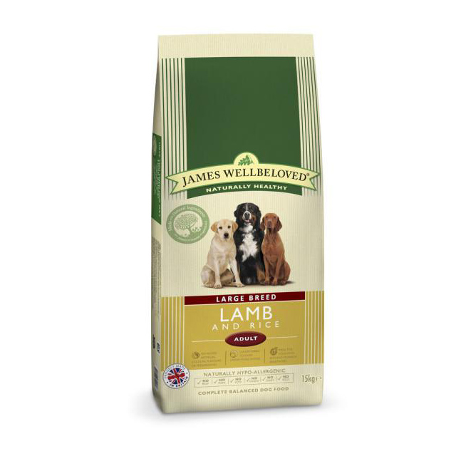 Wellbeloved Adult Large Breed Lamb Rice 15kg