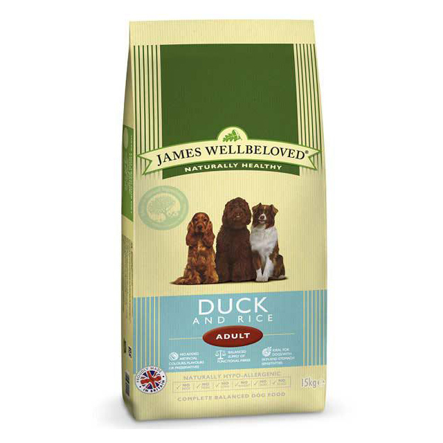 Wellbeloved Adult Large Breed Duck and Rice 15kg