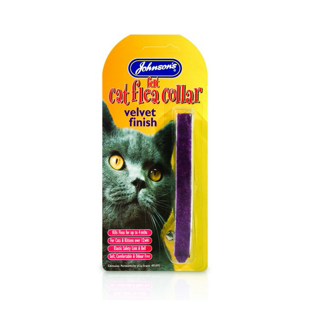 JVP Cat Flea Collars Assorted Felt