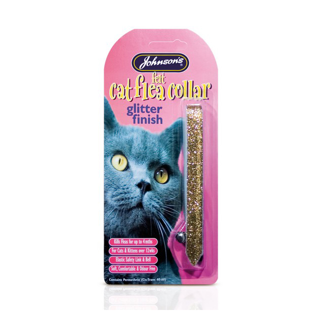 JVP Cat Flea Collars Glitter Assorted