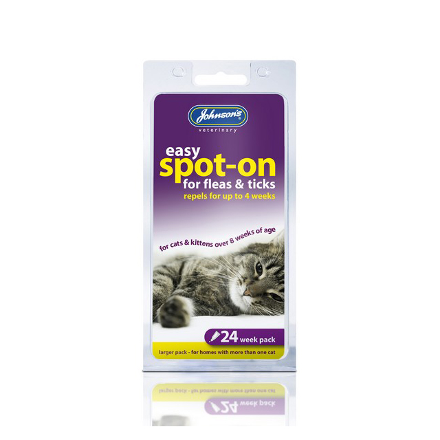 JVP Cat Flea Drops 24wk