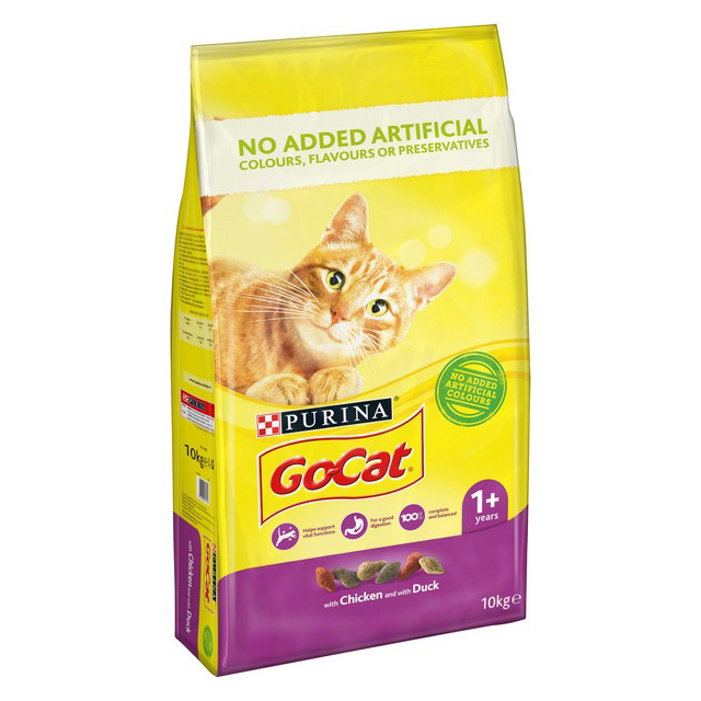 Go Cat Complete Vitality Plus Chicken & Duck 10kg