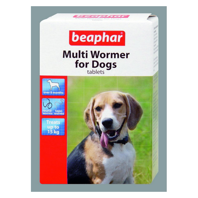 Beaphar Multi Wormer Dog 12s