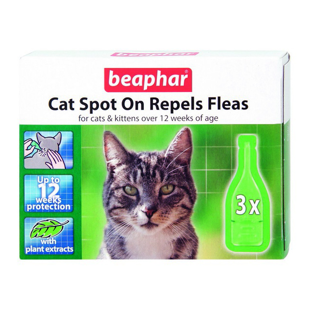 Beaphar Cat Spot On 12 Week 3 Vial