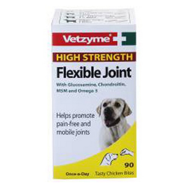 Vetzyme Flexible Joint Tablets High Strength (90Tabs)