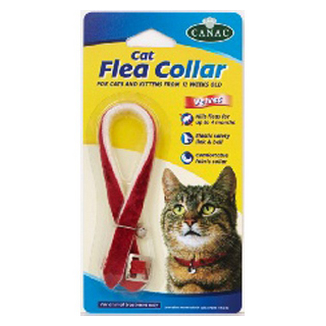 Beaphar Cat Flea Collar Velour Assorted