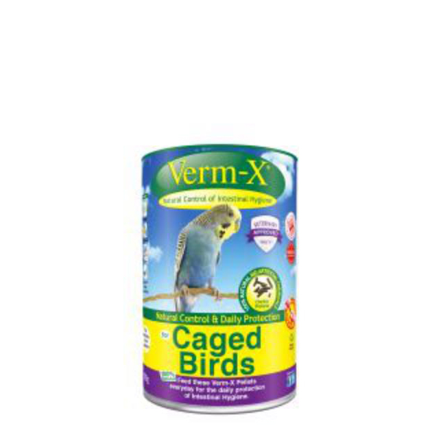 Verm X Pellets For Cage Birds 100g