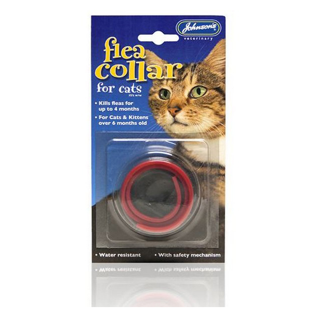 JVP Cat Flea Collar Plastic Assorted