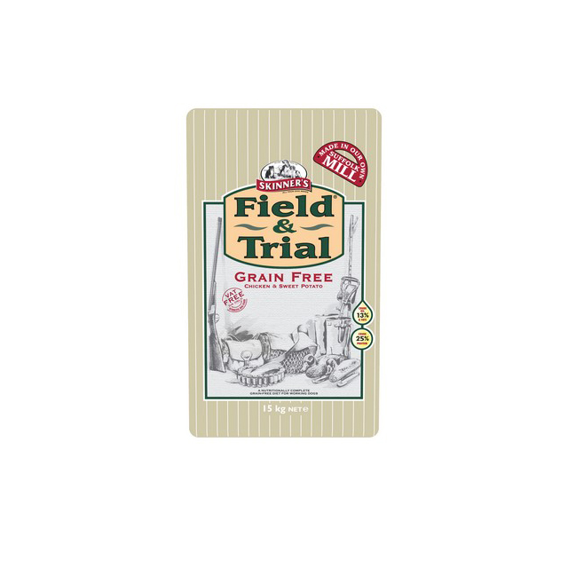Skinners Field & Trial Grain Free Chicken & Sweet Potato 15kg