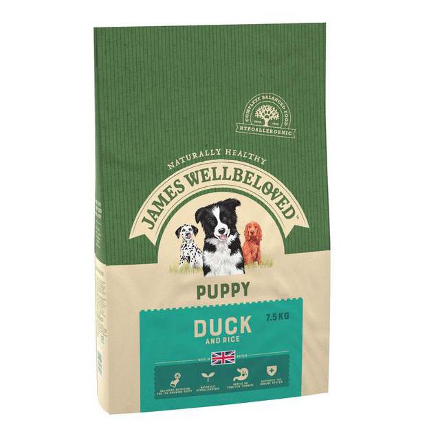 Wellbeloved Duck & Rice Puppy 7.5kg