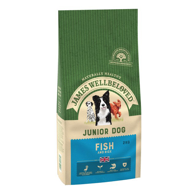 Wellbeloved Fish & Rice Junior 2kg