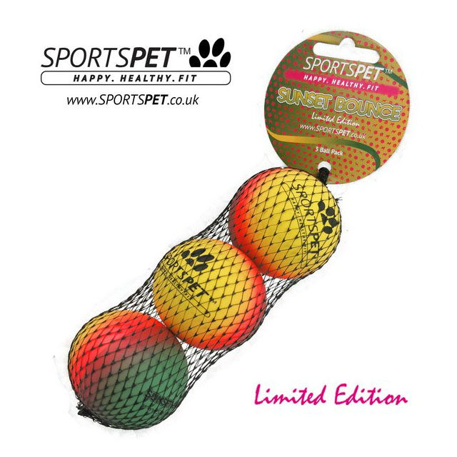 Sportspet Sunset Bounce 3 pack