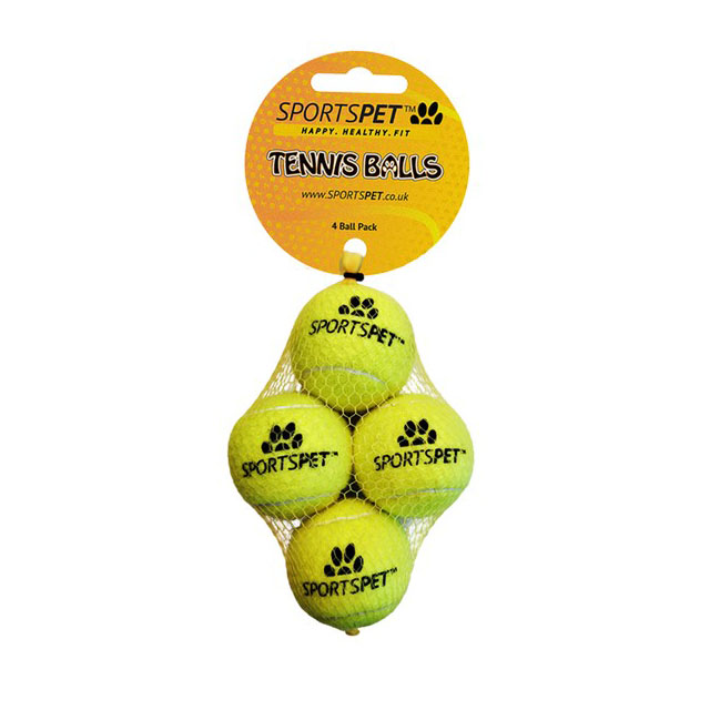 Sportspet Tennis Mini 4 pack