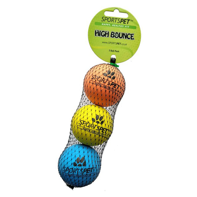 Sportspet High Bounce 3 pack