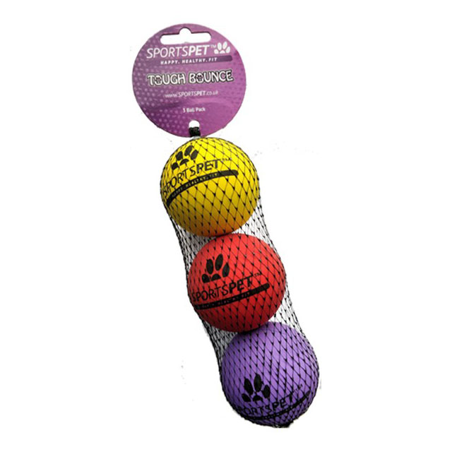 Sportspet Tough Bounce 3 pack