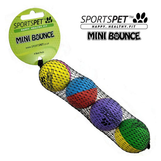 Sportspet Mini High Bounce 4 pack