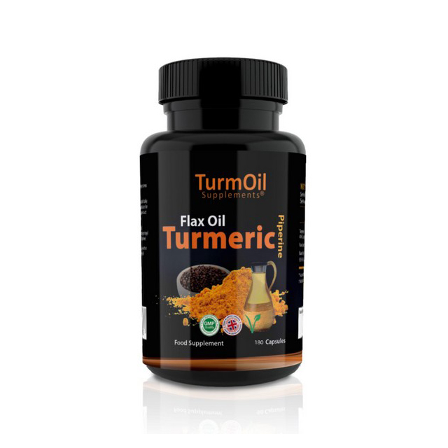 Golden Paste Co. TurmOil Capsules 180pk
