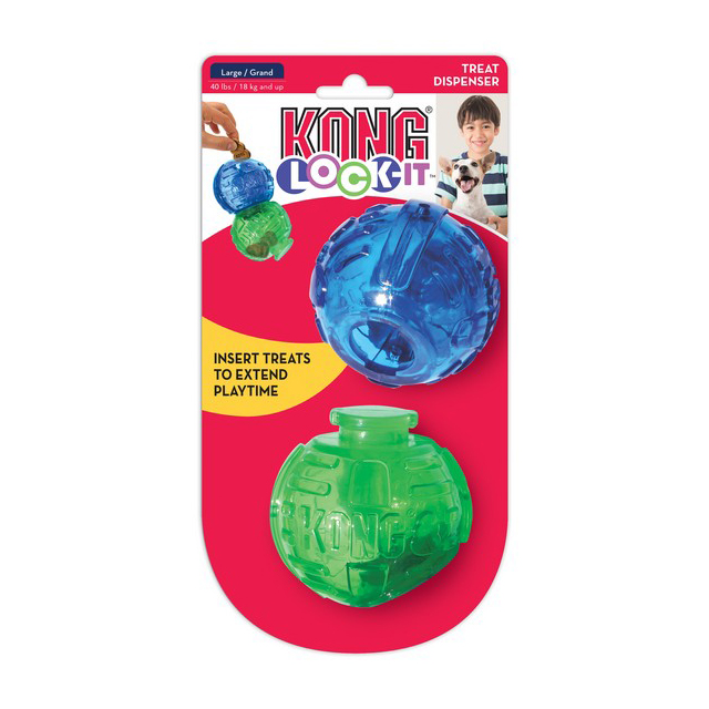 KONG Lock-It 2-pk Large