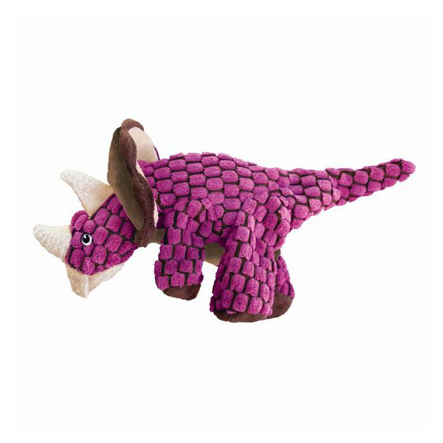 KONG Dynos Triceratops Pink Small