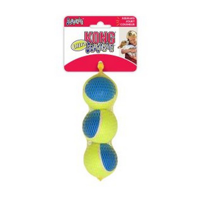 KONG Ultra Squeaker Air Ball (3Pk) Medium