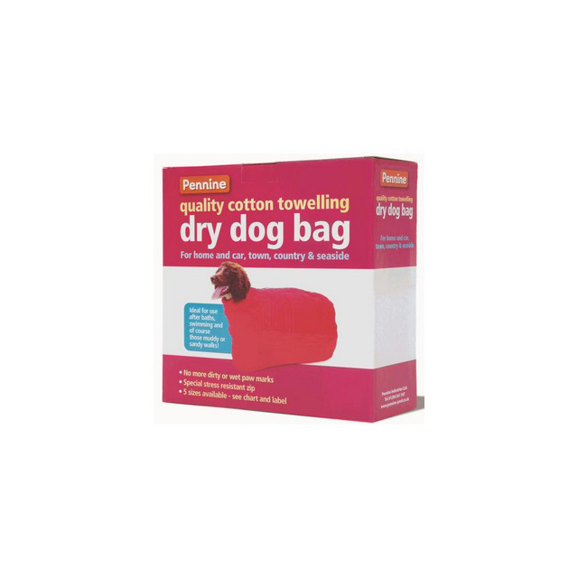 Pennine Dry Dog Bag (Toy and Minature Terrier) Size 2