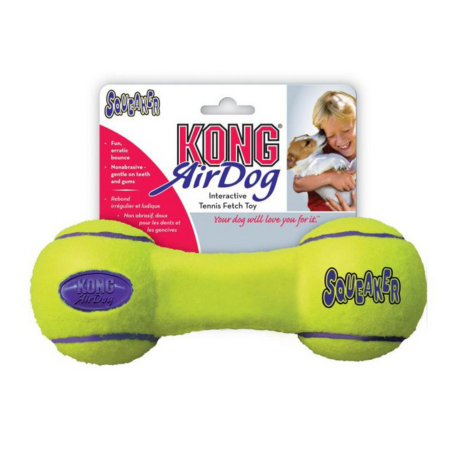 KONG Air Squeaker Dumbbell Medium