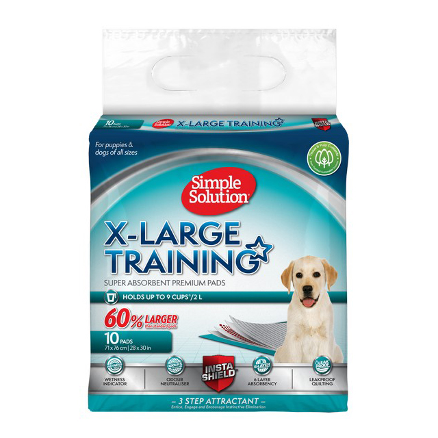 Simple Solution Puppy Training Pads XLarge (10Pk)