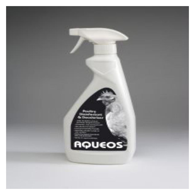 Aqueos Poultry Disinfectant Spray 750ml