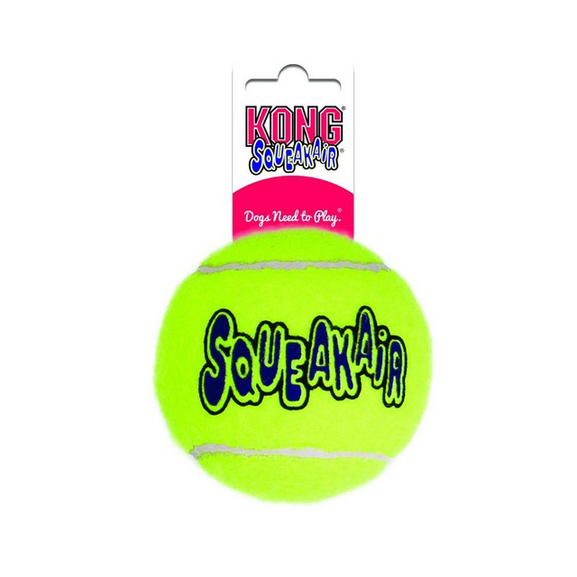 KONG Air Squeaker Tennis Ball Medium Bulk