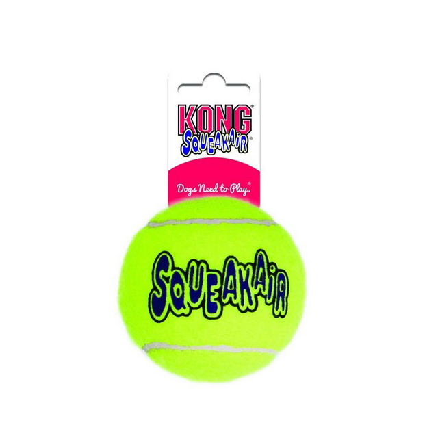 KONG Air Squeaker Tennis Ball  Bulk XLarge