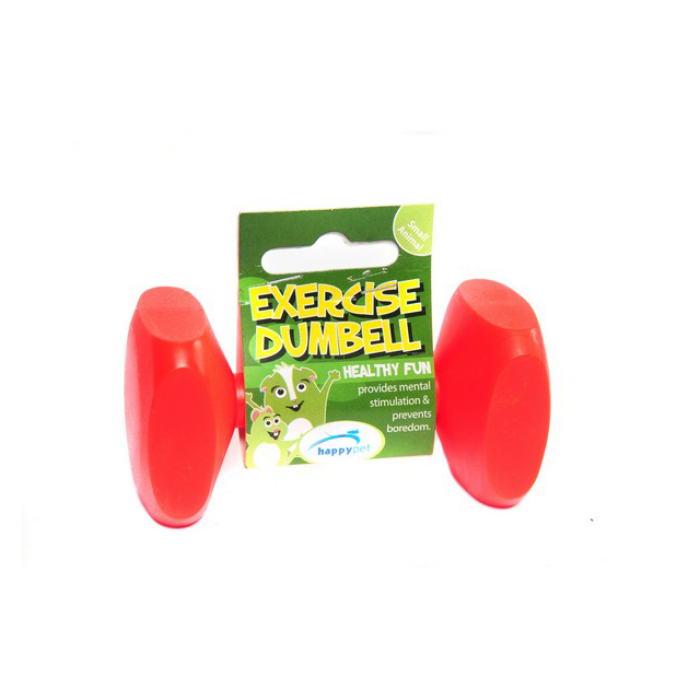 Happy Pet Small Animal Exercise Dumbbell 9.5cm