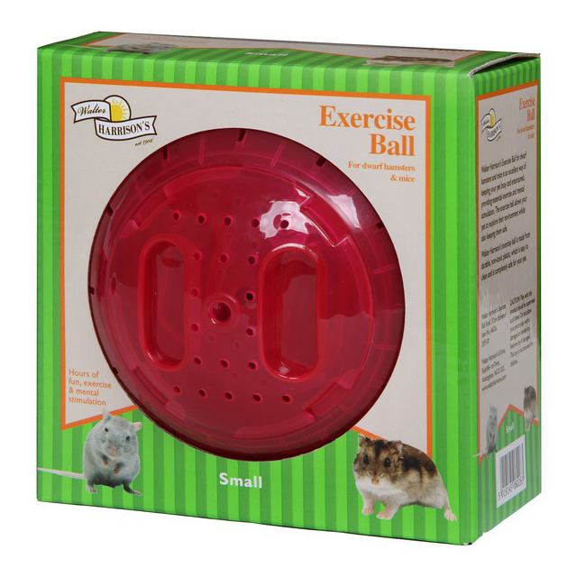 Harrisons Small Animal Exercise Ball Small 12cm