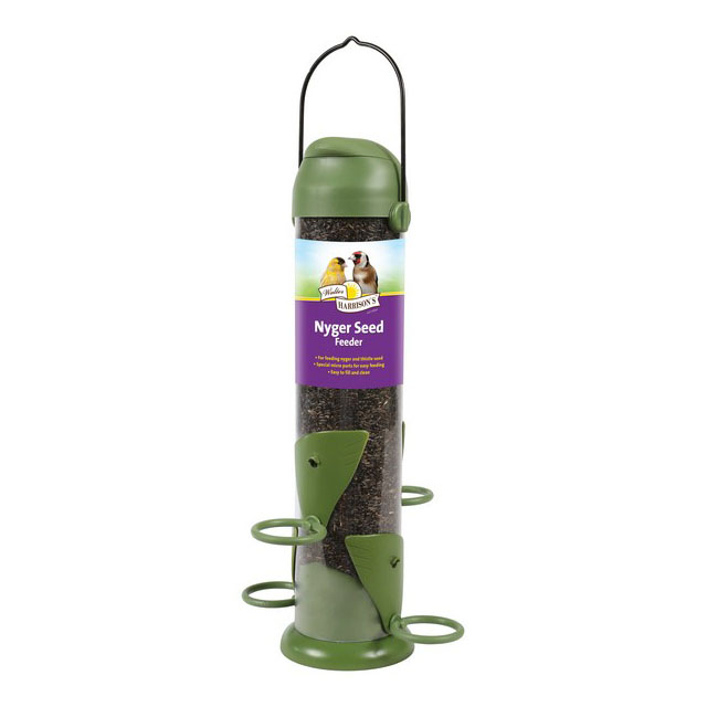 Harrisons Flip Top Nyger Seed Feeder 30cm