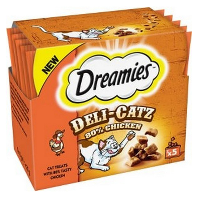 Dreamies Deli Catz Cat Treat Chicken