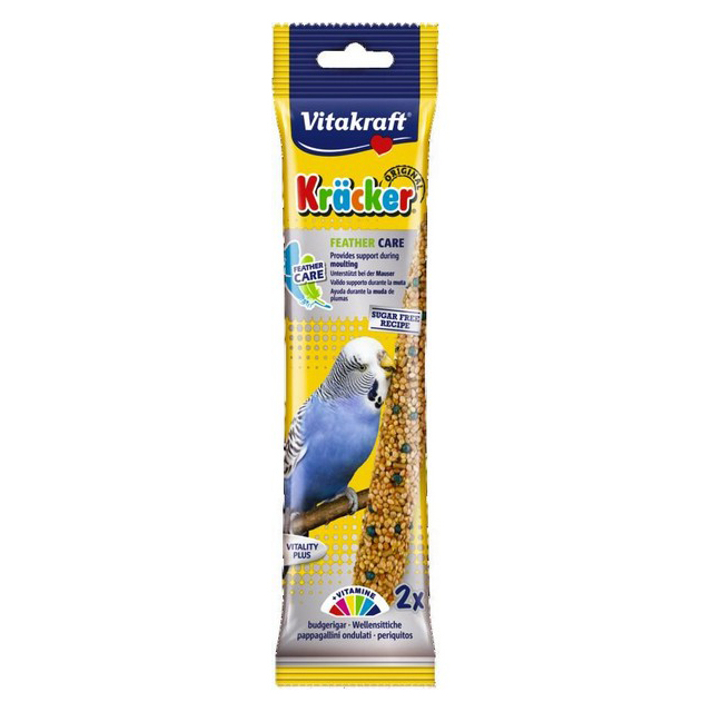 Vitakraft Budgie Kracker Feather Care (2Pk) [DCse 7]