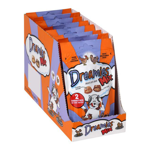 Dreamies Chicken & Duck 60g [DCse 8]