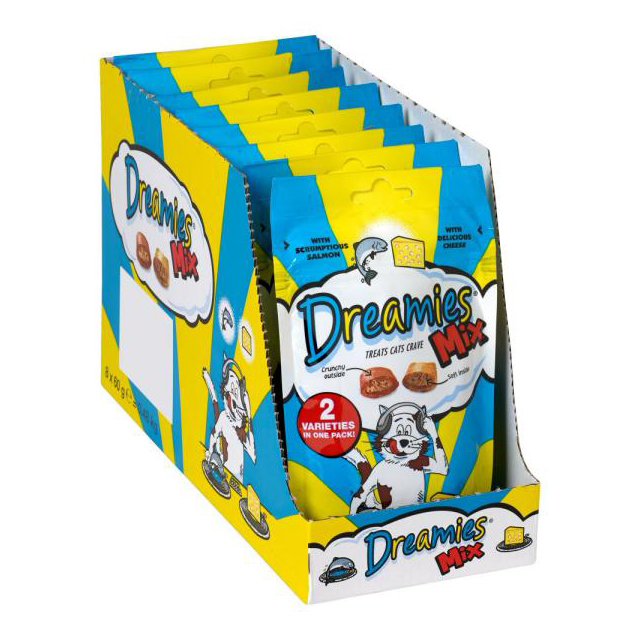 Dreamies Salmon & Cheese 60g [DCse 8]